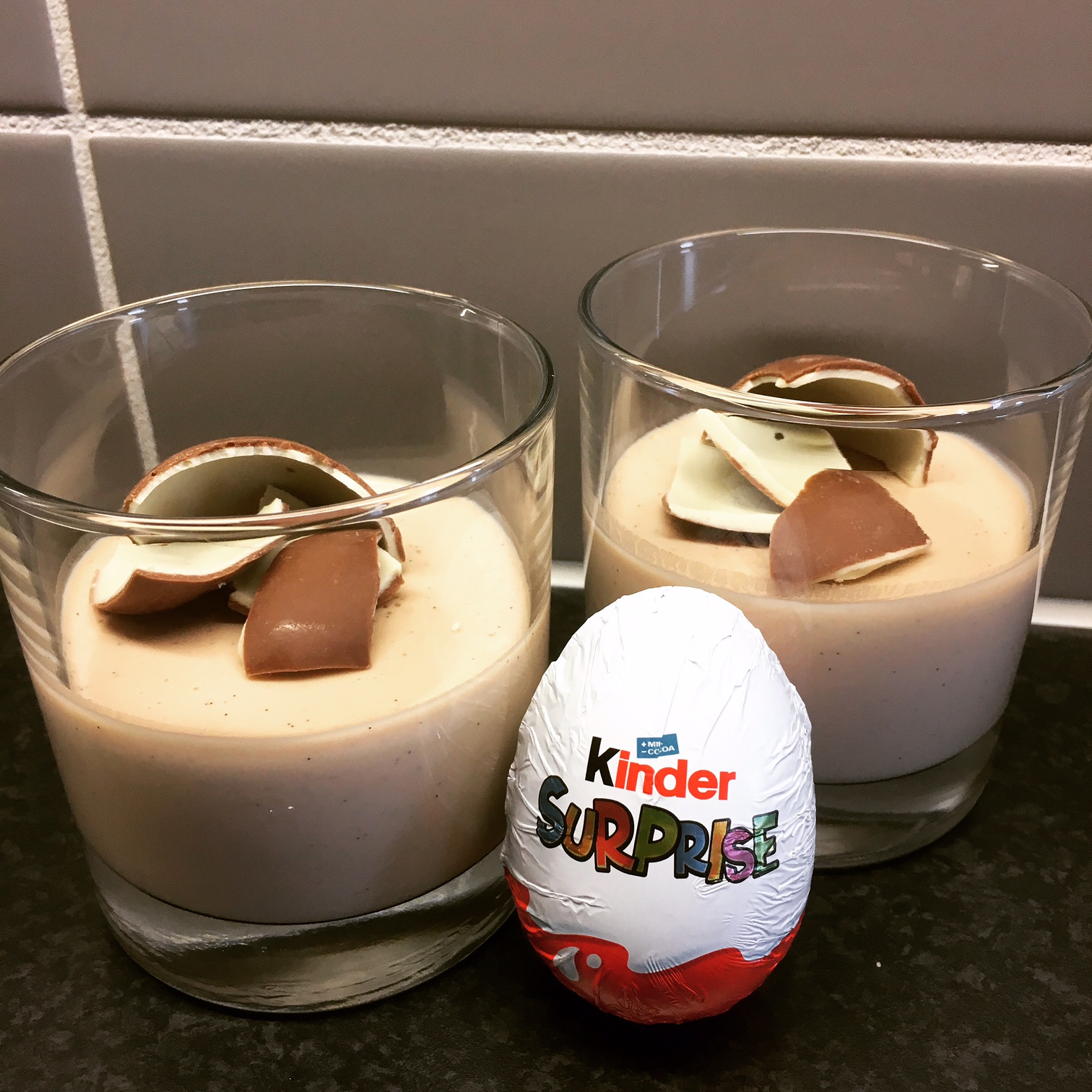 Kinderäggspannacotta