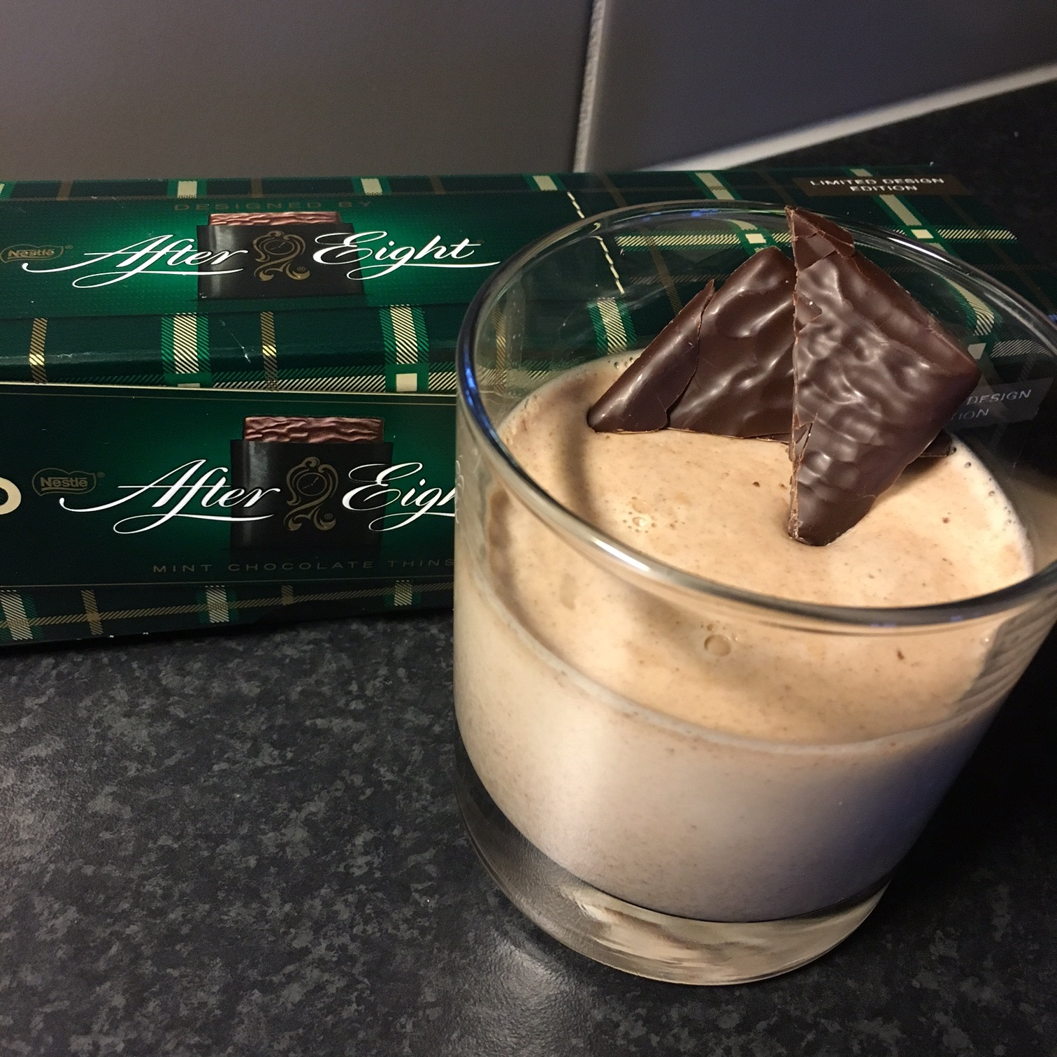 After Eight Pannacotta