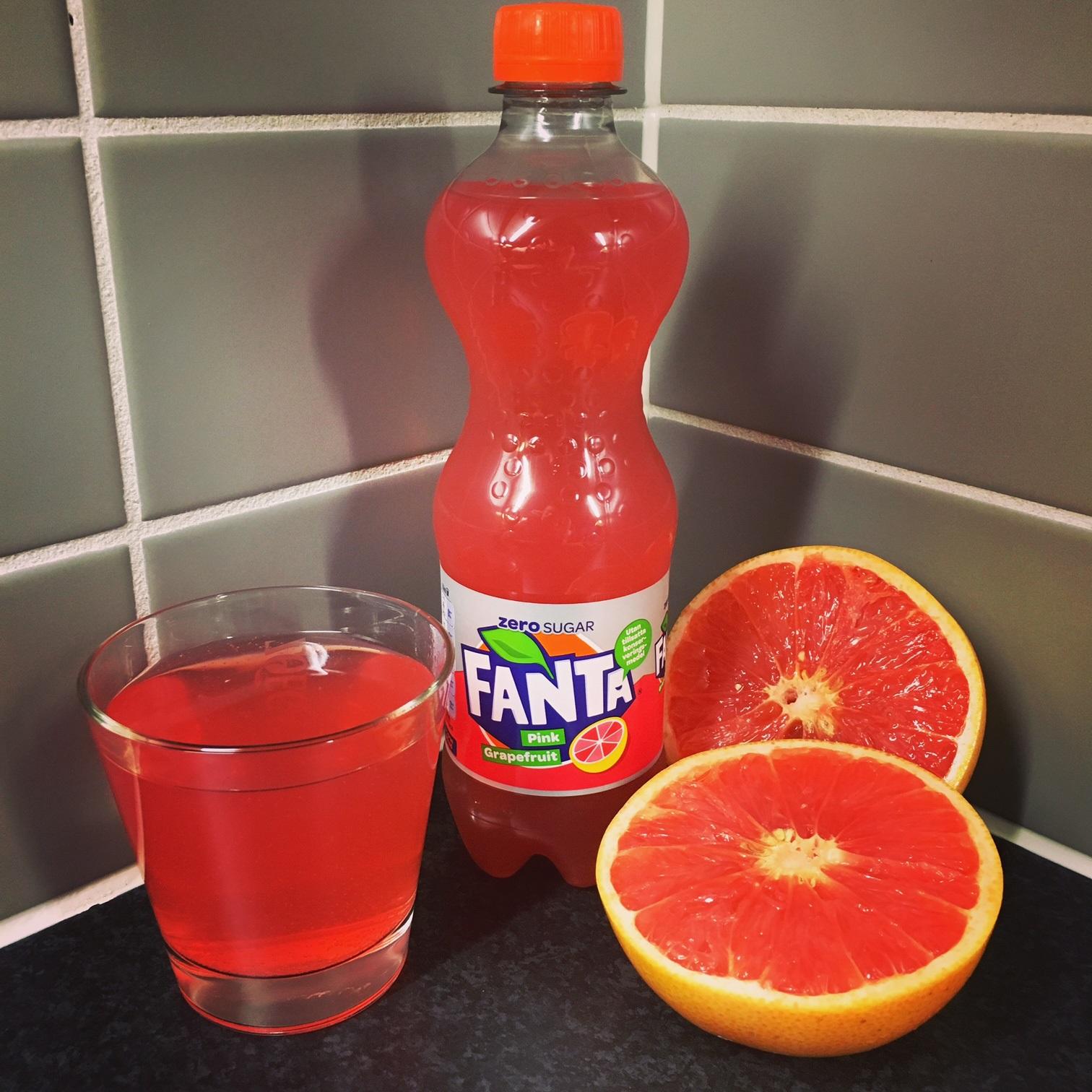 Fanta Zero Pink Grapefruit