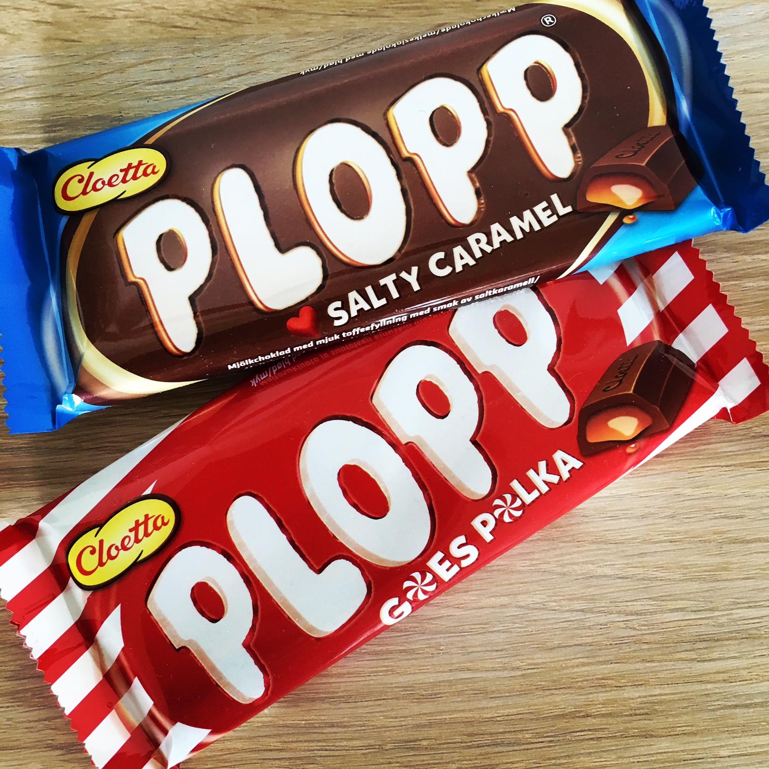 Cloetta Plopp Salty Caramel, Goes Polka